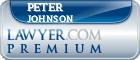 Peter Johnson  Lawyer Badge