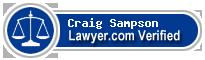 Craig W. Sampson  Lawyer Badge