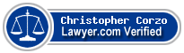 Christopher J. Corzo  Lawyer Badge