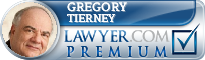 Gregory J. Tierney  Lawyer Badge