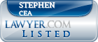 Stephen Cea Lawyer Badge