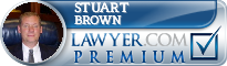 Stuart P. Brown  Lawyer Badge