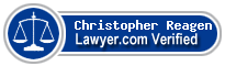 Christopher Reagen  Lawyer Badge