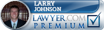 Larry A. Johnson  Lawyer Badge