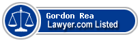 Gordon Rea Lawyer Badge