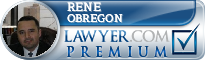 Rene L. Obregon  Lawyer Badge