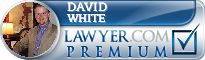 David M. White  Lawyer Badge