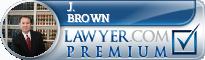 J. Chris Brown  Lawyer Badge
