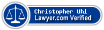 Christopher M. Uhl  Lawyer Badge