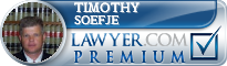 Timothy B. Soefje  Lawyer Badge