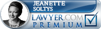 Jeanette L. Soltys  Lawyer Badge