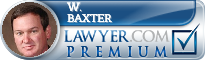 W. Thomas Baxter  Lawyer Badge