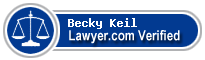 Becky L. Keil  Lawyer Badge