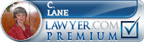 C. Page Lane  Lawyer Badge