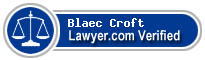 Blaec C. Croft  Lawyer Badge