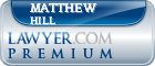 Matthew M. Hill  Lawyer Badge