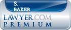 S. Shane Baker  Lawyer Badge