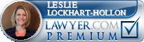 Leslie Lockhart-Hollon  Lawyer Badge