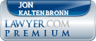 Jon A. Kaltenbronn  Lawyer Badge