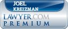 Joel N. Kreizman  Lawyer Badge