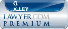 G. Robin Alley  Lawyer Badge