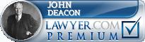 John C. Deacon  Lawyer Badge