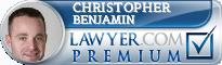 Christopher E. Benjamin  Lawyer Badge
