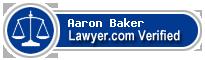 Aaron W. Baker  Lawyer Badge