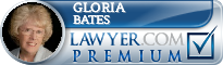 Gloria C. Bates  Lawyer Badge
