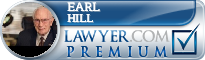 Earl M. Hill  Lawyer Badge