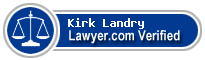 Kirk L. Landry  Lawyer Badge