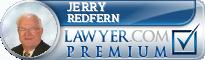 Jerry L. Redfern  Lawyer Badge