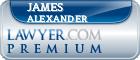 James W. Alexander  Lawyer Badge