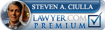 Steven A. Ciulla  Lawyer Badge
