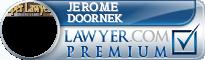 Jerome A Doornek  Lawyer Badge