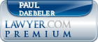 Paul F. Daebeler  Lawyer Badge