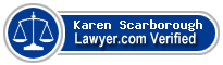 Karen Scarborough  Lawyer Badge