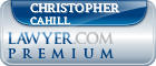 Christopher S. Cahill  Lawyer Badge