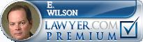 E. Ham Wilson  Lawyer Badge