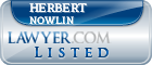 Herbert Nowlin Lawyer Badge