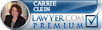 Carrie H Clein  Lawyer Badge