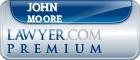 John C. Moore  Lawyer Badge