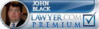 John E. Black  Lawyer Badge