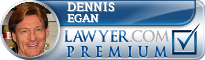 Dennis E. Egan  Lawyer Badge