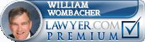 William C. Wombacher  Lawyer Badge