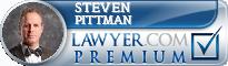 Steven W. Pittman  Lawyer Badge