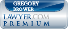 Gregory E. Brower  Lawyer Badge