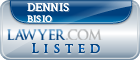 Dennis Bisio Lawyer Badge