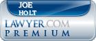 Joe D. Holt  Lawyer Badge