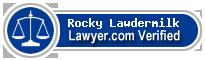 Rocky Sean Lawdermilk  Lawyer Badge